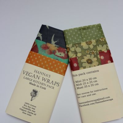 Hanna Bee Wraps Vegan Ireland