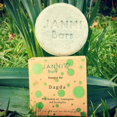 Shampoo Bar by Janni Bars, Suitable for all hair types