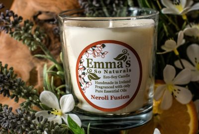 Eco Soy Candle Neroli Fusion 100ml Glass Tumbler