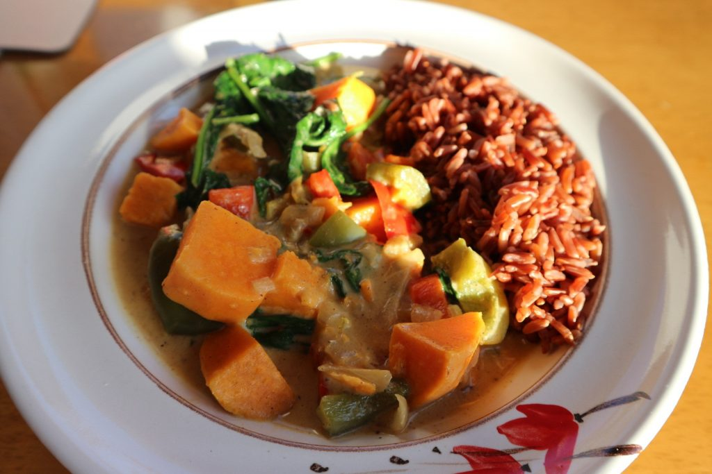 Vegetable Curry Green Outlook