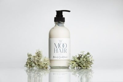 Moo Hair Miracle Conditioner Glass Packaging
