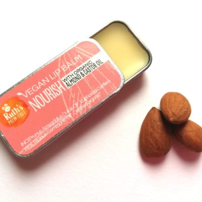 Vegan Lip Balm Nourish Ruth's Palm Free