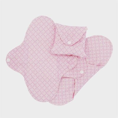 ImseVimse Slim Day pads Washable Cloth Pads Pink