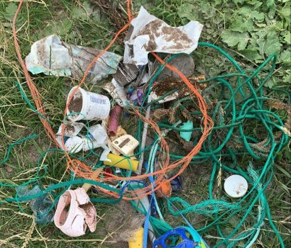 Plastic Waste at the Beach