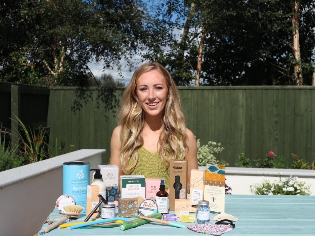 Fiona Smiddy, Founder Green Outlook with sustainable living products