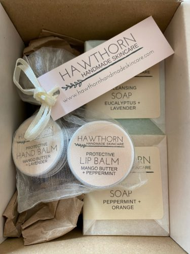 Mini Balm and Soap Gift Set Hawthorn Skincare