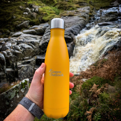 Mustard Reusable Bottle Green Outlook