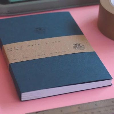 Badly Made Books A5 Lined Notebook Recycled Paper
