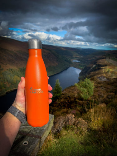Orange Water Bottle