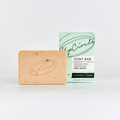 Upcircle Cinnamon & Ginger Face and Body Soap
