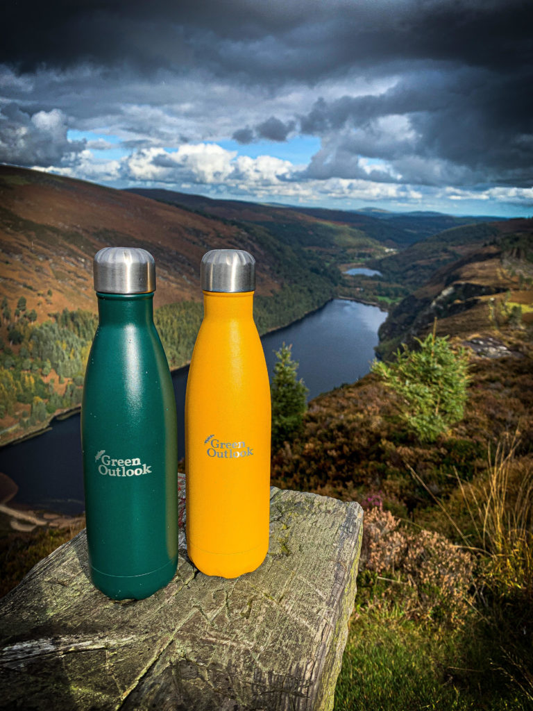 Teal and Mustard Insulated Bottles Zero Waste Gift