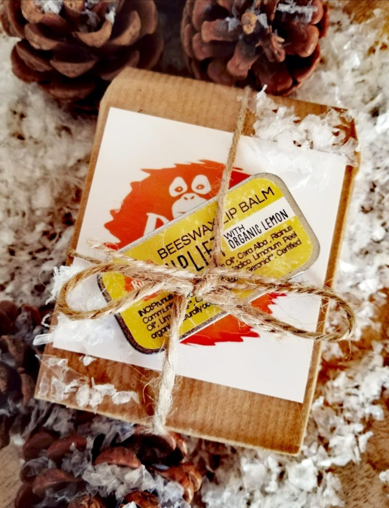 Ruth's Palm Free Lip Balm and Soap Gift Set