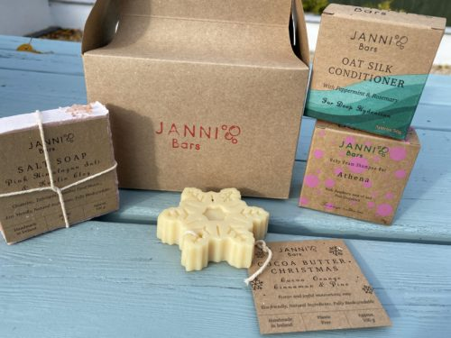 Athena Shampoo Bar Sustainable Gift Set by Janni at Green Outlook