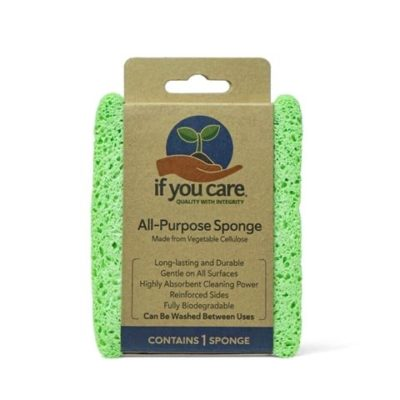Reusable Kitchen Cleaning Sponge If You Care